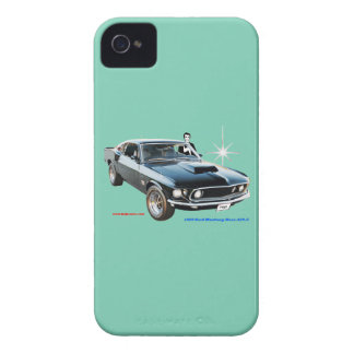 1969_Ford-Mustang Coques iPhone 4 Case-Mate