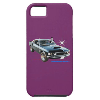 1969_Ford-Mustang iPhone 5 Case