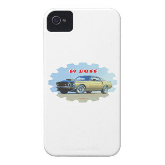 1969_Mustang Coques iPhone 4 Case-Mate