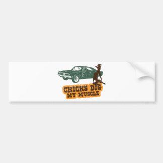 1969 Se du chargeur R T de Dodge Autocollant Pour Voiture