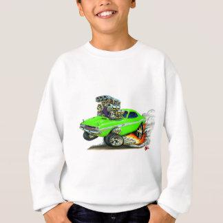 1970-72 voiture de chaux de challengeur de Dodge Sweatshirt