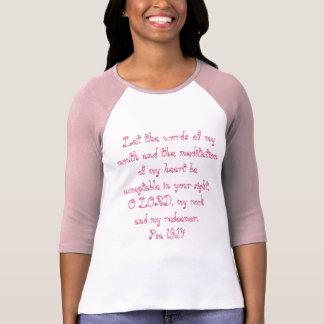 19h14 de psaumes t-shirt