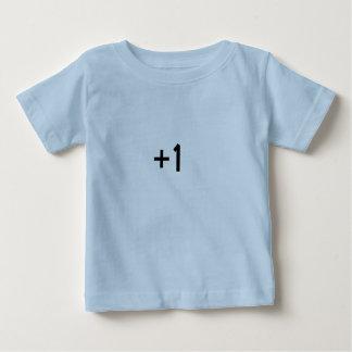 1+1 = bébé d'amusement de T-shirts de famille