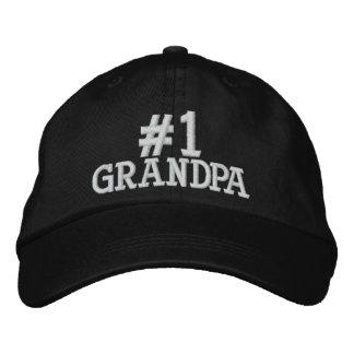 #1 casquette brodé par grand-papa du numéro un