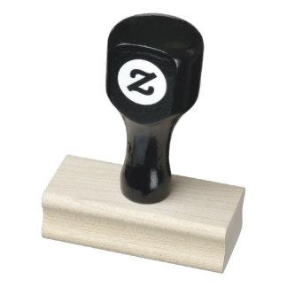 """1"""" x 2,5"""" timbre en bois d'art"""