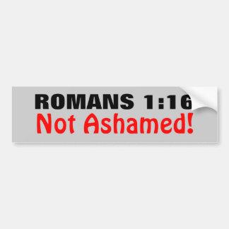 1h16 de Romains non honteux Autocollant De Voiture