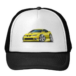 2004-06 voiture jaune de GTO Casquettes