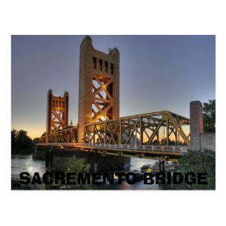 20060805095806 ! Tower_Bridge_Sacramento_edit, SA… Carte Postale