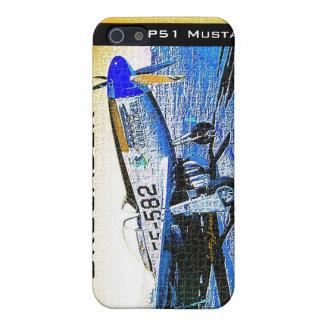 """© 2009 S.J. de mustang de P51 de """"croisé"""" Étui iPhone 5"""
