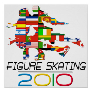2010 : Patinage artistique Poster