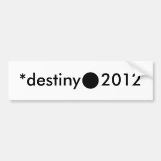 2012 BlackcSqCircleTrans-3 *destiny Autocollant Pour Voiture