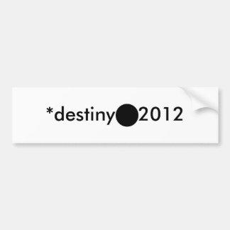 2012 BlackcSqCircleTrans-3 *destiny Autocollants Pour Voiture