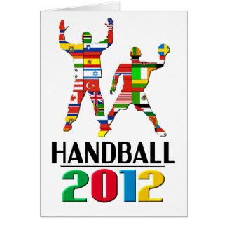 2012 : Handball Carte De Vœux