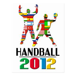 2012 : Handball Carte Postale