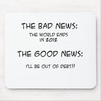 2012 sur la dette tapis de souris