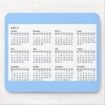 2013 calendrier Mousepad Tapis De Souris