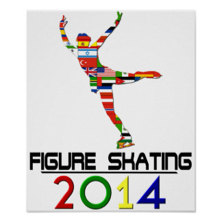 2014 : Patinage artistique Poster