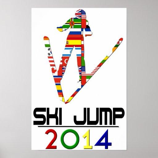 2014 : Saut à skis Affiches