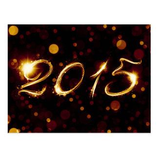 2015 CARTE POSTALE