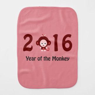 2016 ans mignon du singe linge de bébé