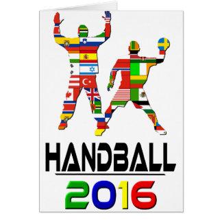 2016 : Handball Carte De Vœux