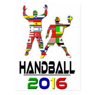 2016 : Handball Cartes Postales