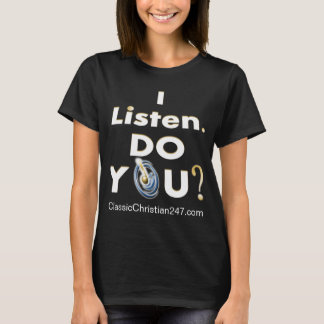 """2016 """"j'écoute. Faites-vous ?"""" Le T-shirt des"""