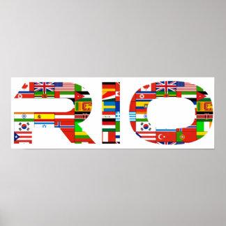 2016 : Rio Affiches