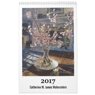 2017 calendrier d'art - Catherine M. James