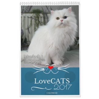 2017 calendrier de LoveCATS - troisième édition