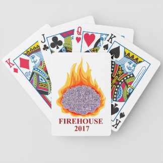2017 cartes de jeu flamboyantes de bouche jeux de cartes