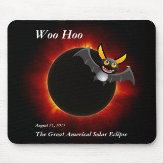 2017 éclipse solaire, édition de vampire tapis de souris