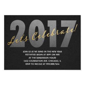 2017 nouvelles années d'invitations d'Ève Carton D'invitation 12,7 Cm X 17,78 Cm