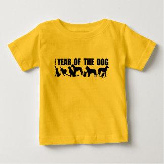 2018 nouvelles années chinoises de la pièce en t t-shirt pour bébé