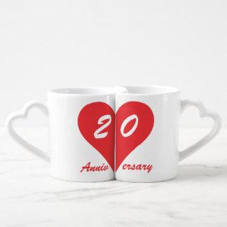 20ème Anniversaire de mariage Mug