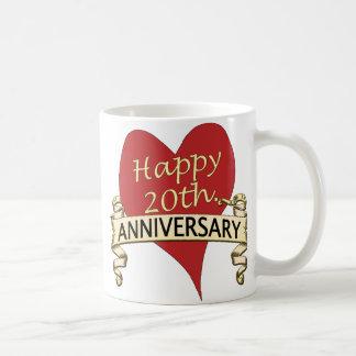 20ème. Anniversar Mug