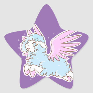 20Stickers Autocollants kawaii Sheep of the dreams