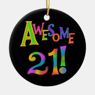 21 T-shirts et cadeaux impressionnants Ornement Rond En Céramique