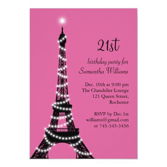 21 me invitation d 39 anniversaire de tour eiffel - Salon des seniors paris invitation ...