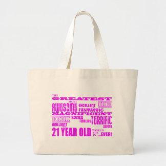21èmes anniversaires de filles : Plus grands 21 Grand Sac