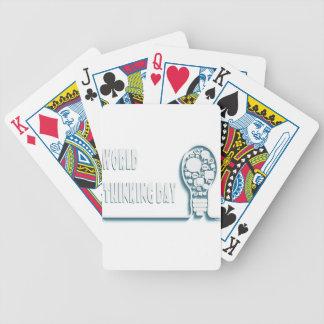 22 février - jour de pensée du monde jeux de cartes