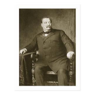 22ème et 24ème président de Grover Cleveland, de Carte Postale