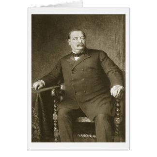 22ème et 24ème président de Grover Cleveland, de l Carte De Vœux
