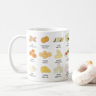 24 de biscuits tasses de la connaissance de