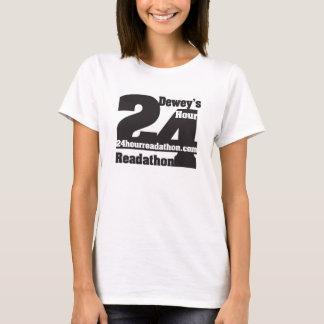 24 T-shirts de Readathon de l'heure de Dewey