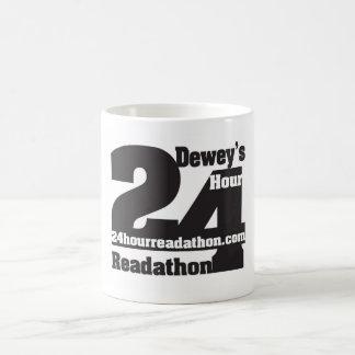 24 tasses de Readathon de l'heure de Dewey