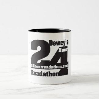 24 tasses de ton de Readathon deux de l'heure de