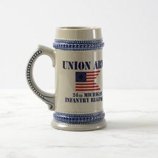 24ème Régiment d'infanterie du Michigan, guerre Chope À Bière
