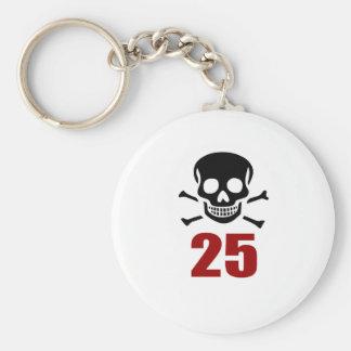 25 conceptions d'anniversaire porte-clés