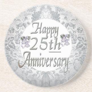25ème Anniversaire de mariage Dessous De Verres